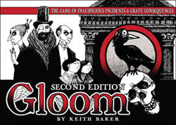 Gloom The Card Game (2nd Edition) - Boardlandia