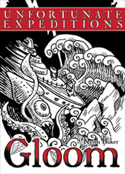"Gloom 2E: ""Unfortunate Expeditions"" Expansion - Boardlandia"
