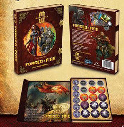 "Mage Wars - Spell Tome Expansion: ""Forged In Fire"" - Boardlandia"