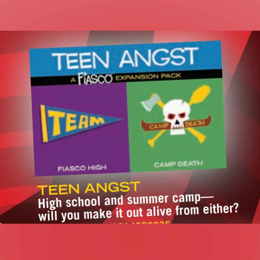 Fiasco: Teen Angst Expansion
