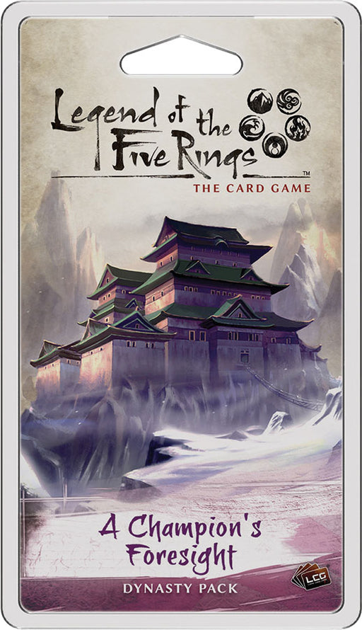 Legend of the Five Rings LCG: A Champion's Foresight Dynasty Pack (Pre-Order)