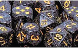 7CT SPECKLED POLY URBAN CAMO DICE SET