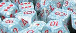 D6 -- 16Mm Speckled Dice, Air, 12Ct - Boardlandia