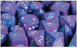D6 -- 12Mm Speckled Dice, Silver Tetra, 36Ct - Boardlandia