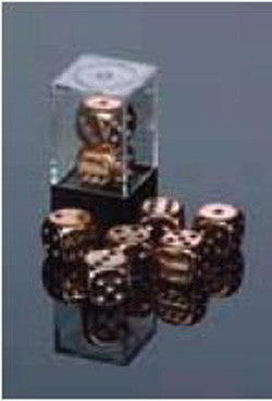 D6 -- 16Mm Metallic Dice, Copper, 2Ct - Boardlandia
