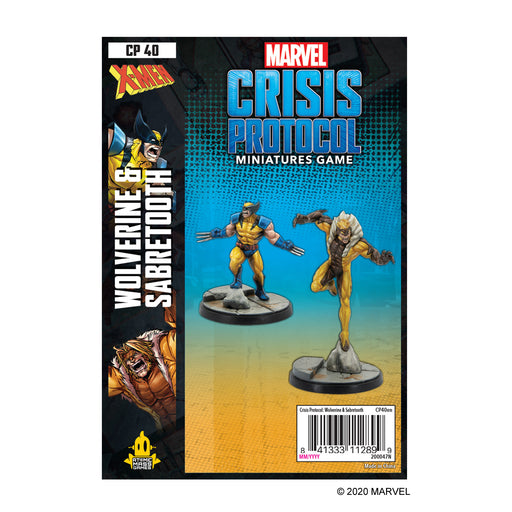 Marvel: Crisis Protocol - Wolverine and Sabretooth Character Pack (Pre-Order)