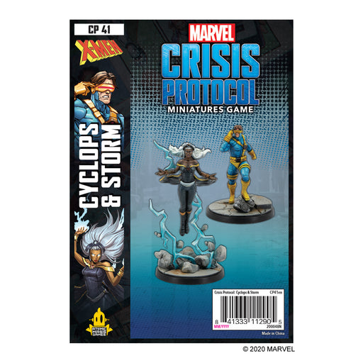 Marvel: Crisis Protocol - Cyclops and Storm Character Pack (Pre-Order)