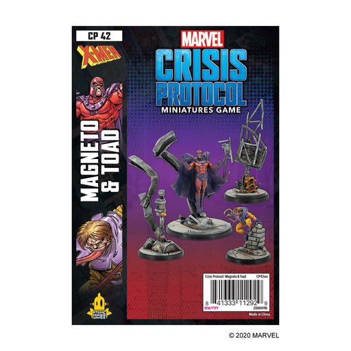 Marvel: Crisis Protocol - Magneto and Toad Character Pack (Pre-Order)