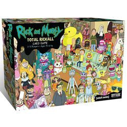 Rick And Morty: Total Rickall Card Game - Boardlandia