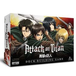 Attack On Titan - Deck Building Game - Boardlandia
