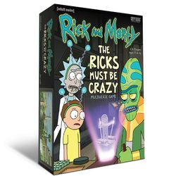 Rick and Morty - The Ricks Must Be Crazy Multiverse Game