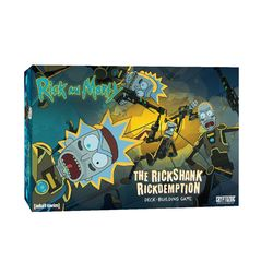 Rick and Morty - The Rickshank Rickdemption Deck-Building Game