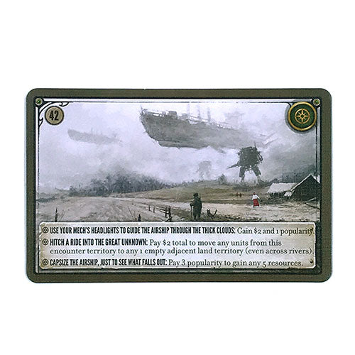 Scythe Encounter Card number 42 (4200)