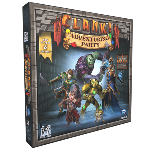 Clank!: Adventuring Party Expansion (with Promo) (Pre-Order)