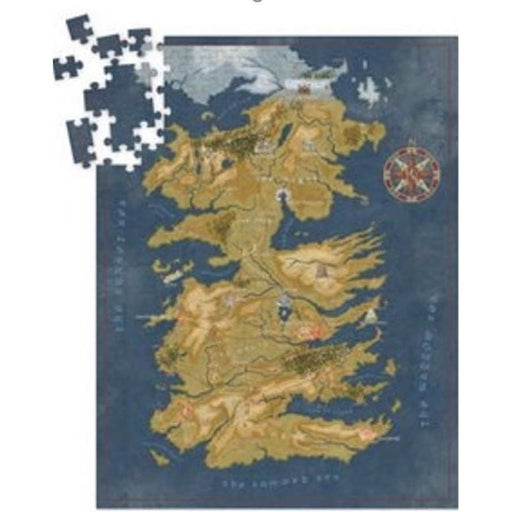 Puzzle: Game of Thrones - Cersei Lannister Westeros Map