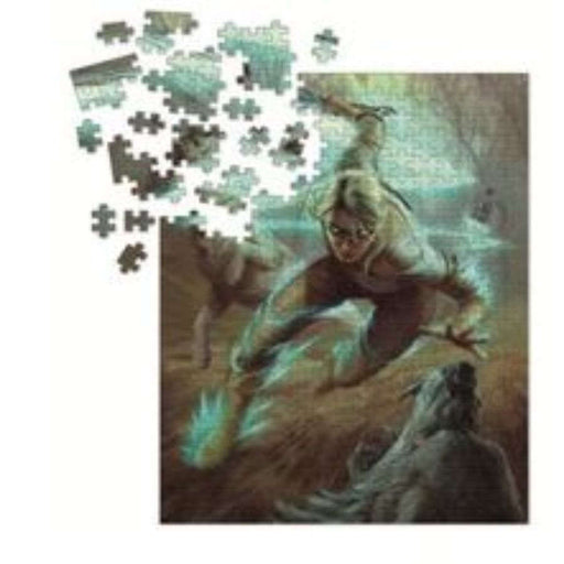 Puzzle: The Witcher 3 - Ciri and the Wolves