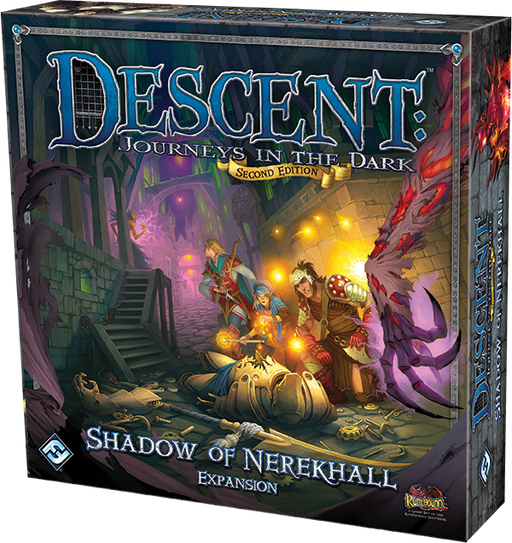 Descent Journeys in the Dark 2nd Edition: Shadow of Nerekhall Expansion