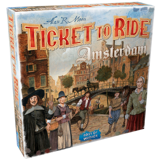 Ticket to Ride: Amsterdam (Pre-Order)