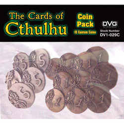 The Cards Of Cthulhu: Coin Pack - Boardlandia