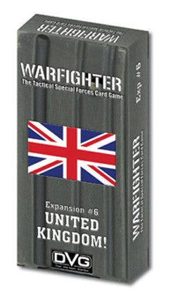 Warfighter: United Kingdom Expansion #6 - Boardlandia