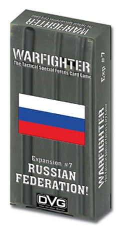 Warfighter: Russian Federation Expansion #7 - Boardlandia