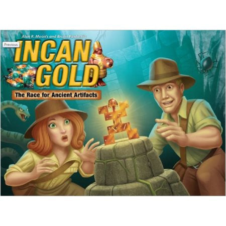 Incan Gold - Bookshelf Edition