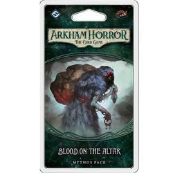 Arkham Horror - The Card Game - Blood On The Altar - Mythos Pack - Boardlandia