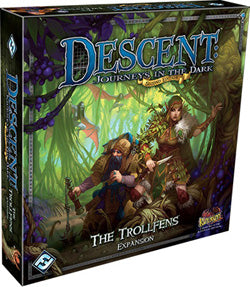 "Descent Second Edition: ""The Trollfens"" Expansion - Boardlandia"