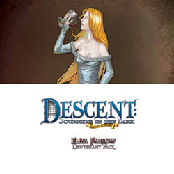 Descent Second Edition: Eliza Farrow Lieutenant Miniature - Boardlandia