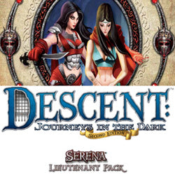 "Descent Second Edition: ""Serena"" Lieutenant Miniature - Boardlandia"