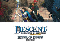 "Descent Second Edition: ""Manor Of Ravens"" Expansion - Boardlandia"