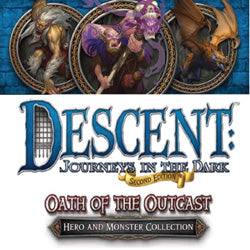 "Descent Second Edition: ""Oath Of The Outcast"" Expansion - Boardlandia"