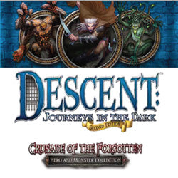 "Descent Second Edition: ""Crusade Of The Forgotten"" Hero & Monster Collection - Boardlandia"