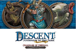 "Descent Second Edition: ""Guardians Of Deephall"" Hero & Monster Collection - Boardlandia"