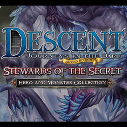 "Descent Second Edition: ""Stewards Of The Secret"" Hero And Monster Collection - Boardlandia"