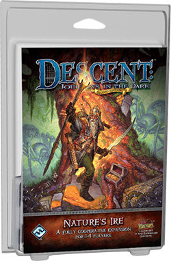 "Descent Second Edition: Journeys In The Dark ""Nature's Ire"" Expansion - Boardlandia"