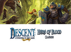 "Descent Second Edition: Journeys In The Dark ""Heirs Of Blood Campaign"" Expansion - Boardlandia"