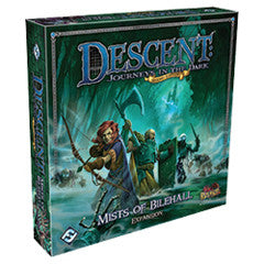 Descent Second Edition - Journeys In The Dark - Mists Of Bilehall Expansion - Boardlandia
