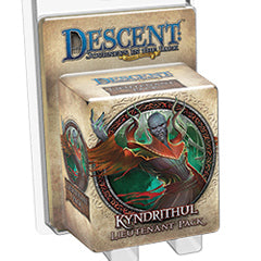 "Descent Second Edition: Journeys In The Dark ""Kyndrithul Lieutenant"" Expansion - Boardlandia"