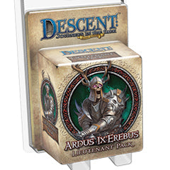 "Descent Second Edition: Journeys In The Dark ""Ardus Ix'erebus"" Expansion - Boardlandia"