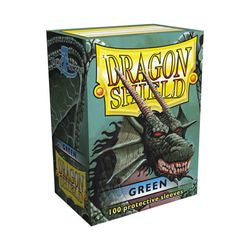 Dragon Shield Sleeves: Green (Box Of 100)
