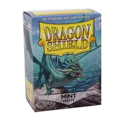Dragon Shield Sleeves: Matte Mint (Box Of 100)