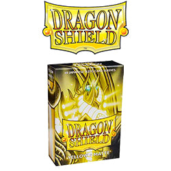 Dragon Shield Sleeves: Japanese Matte Yellow (Box Of 60)
