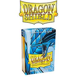 Dragon Shield Sleeves: Japanese Matte Sky Blue (Box Of 60)