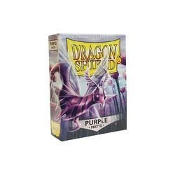 Dragon Shield Sleeves: Matte Purple (Box Of 60) - Boardlandia