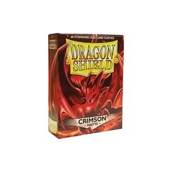 Dragon Shield Sleeves: Matte Crimson (Box Of 60)