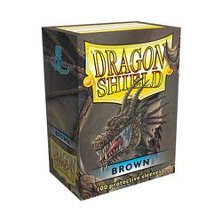 Dragon Shield Sleeves: Brown (Box Of 100)