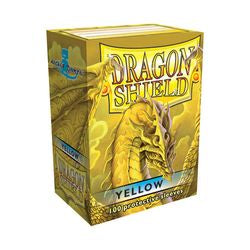 Dragon Shield Sleeves: Yellow (Box Of 100)