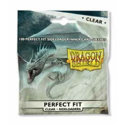 Dragon Shields - Perfect Fit Side Load 100Ct Pack: Clear