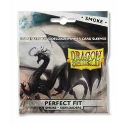 Dragon Shields - Perfect Fit Side Load 100Ct Pack: Smoke - Boardlandia